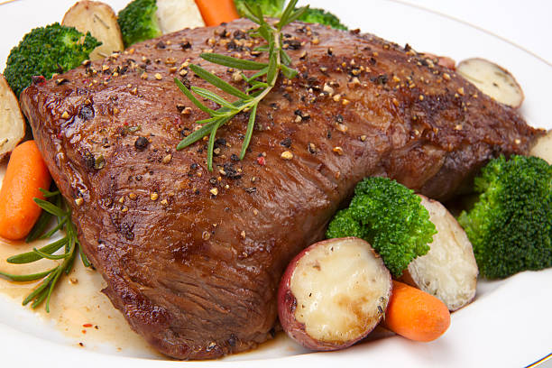 Roasted Beef stock photo