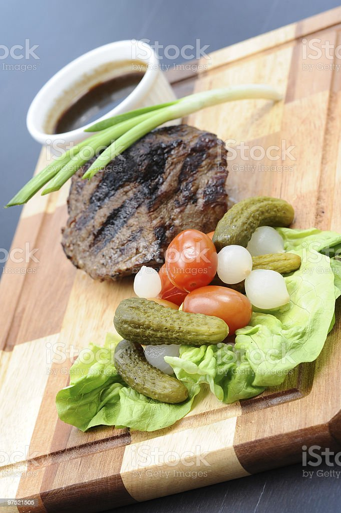Roasted Beef royalty-free stock photo