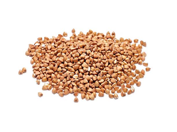 roasted buckwheat - boekweit stockfoto's en -beelden