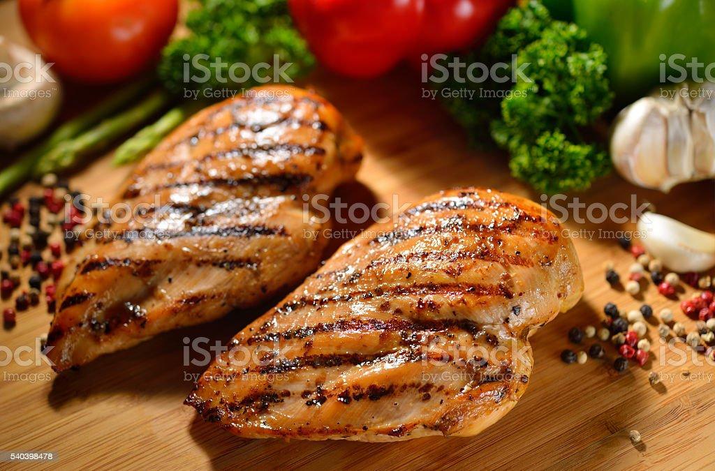 Escalope de poulet rôtie - Photo