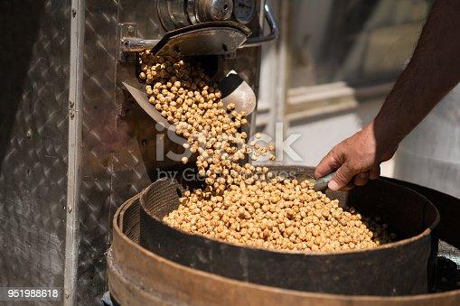 Roasted Chickpea in bazaar