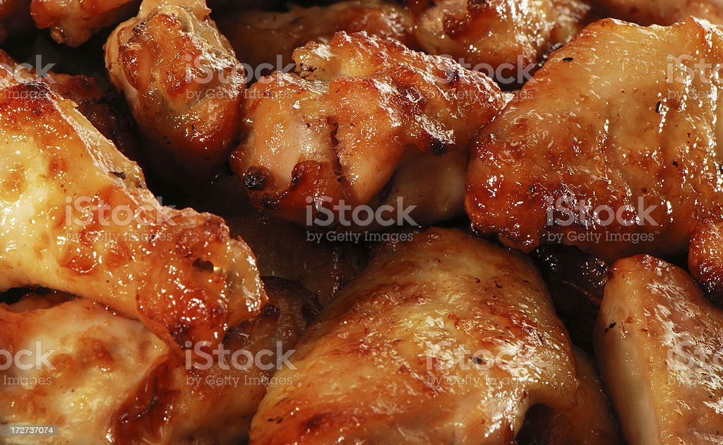 Roasted chiken royalty-free stock photo