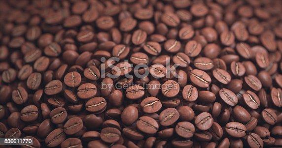 842365806 istock photo Roasted Coffee Bean 836611770
