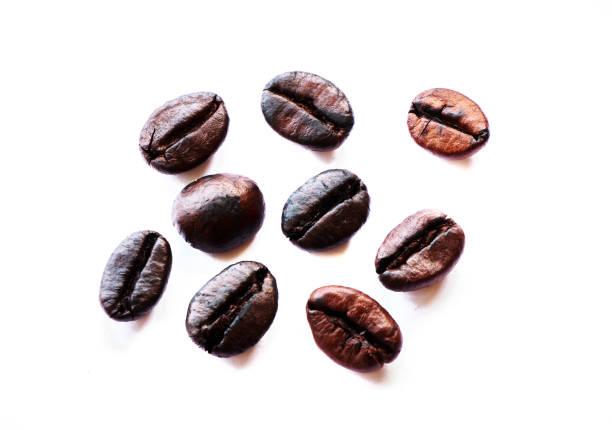Geröstete Kaffeebohnen  – Foto