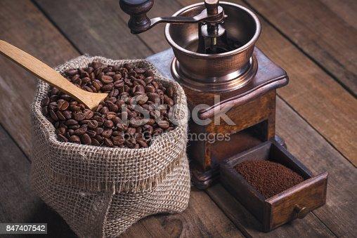 842365806 istock photo Roasted Coffee Beans 847407542