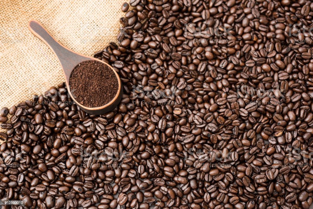 Roasted Coffee stock photo