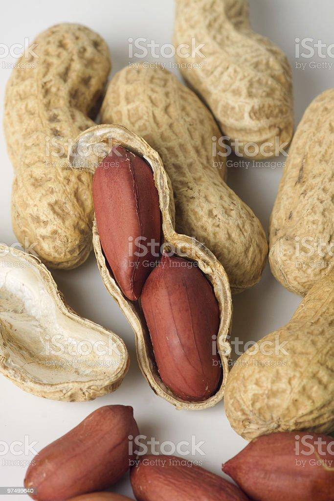 Roasted peanuts royalty-free stock photo