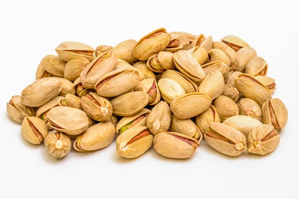 Asado tuercas de pistacho - foto de stock
