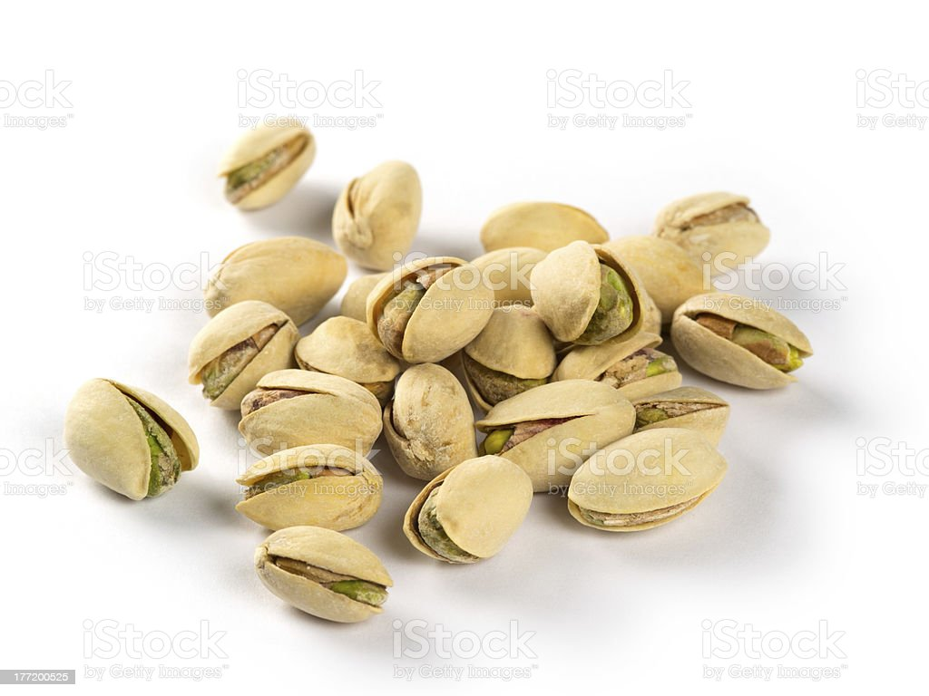 Roasted pistachios royalty-free stock photo