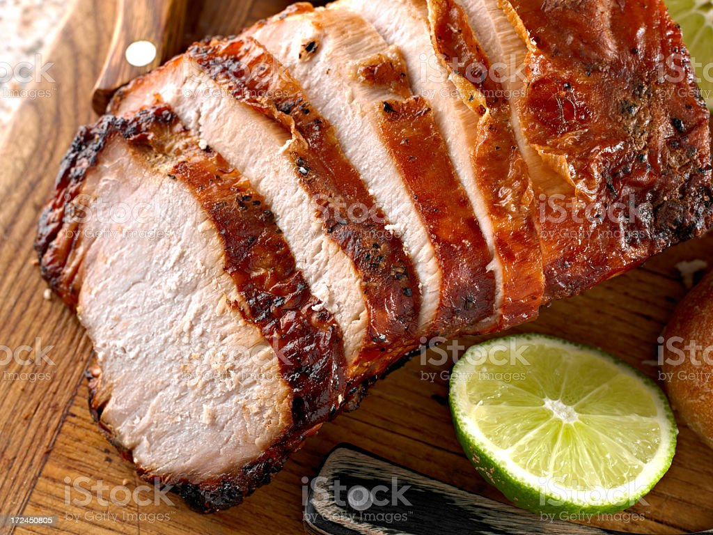 Roasted Pork stock photo