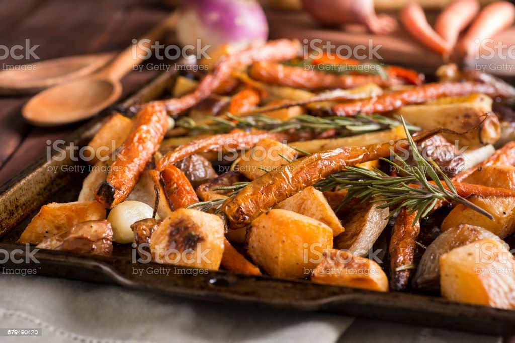 Roasted Root Vegetables – Foto