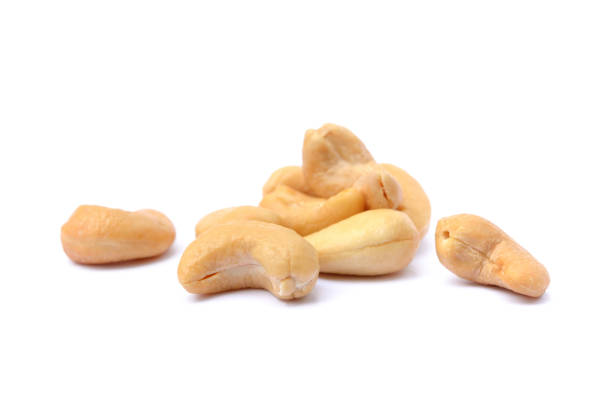 roasted salted cashews - cashew stock photos and pictures