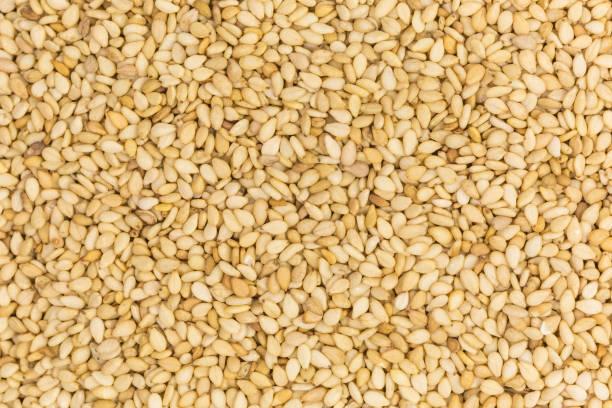 semillas de sésamo asadas - sésamo fotografías e imágenes de stock