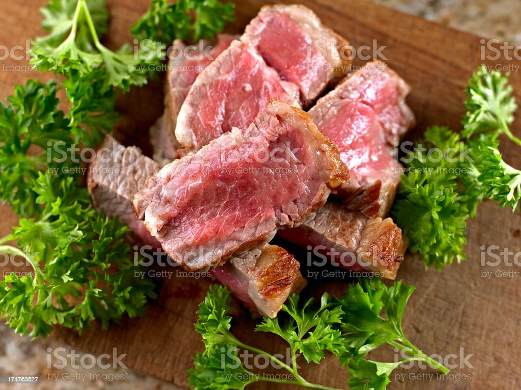 Roasted Steak royalty-free stock photo