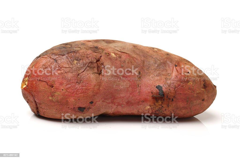 Arrosto, patate dolci foto stock royalty-free