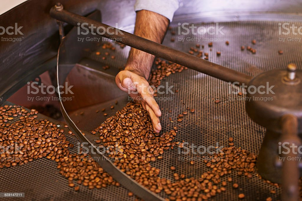 Roasted to perfection stock photo