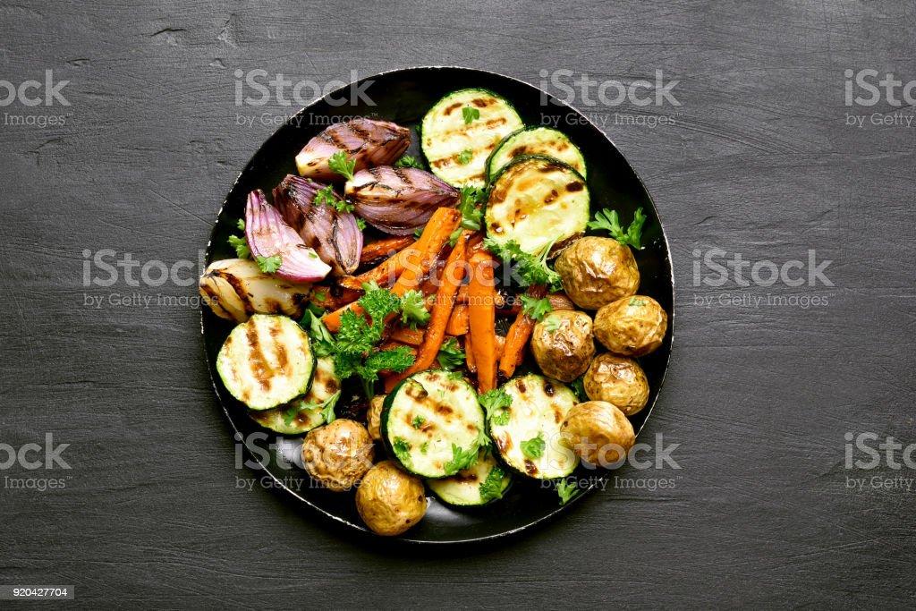 Roasted vegetables - Royalty-free Almoço Foto de stock