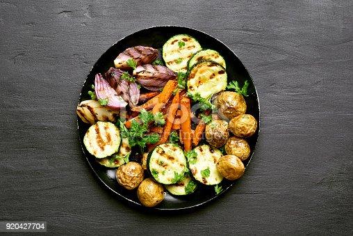istock Roasted vegetables 920427704