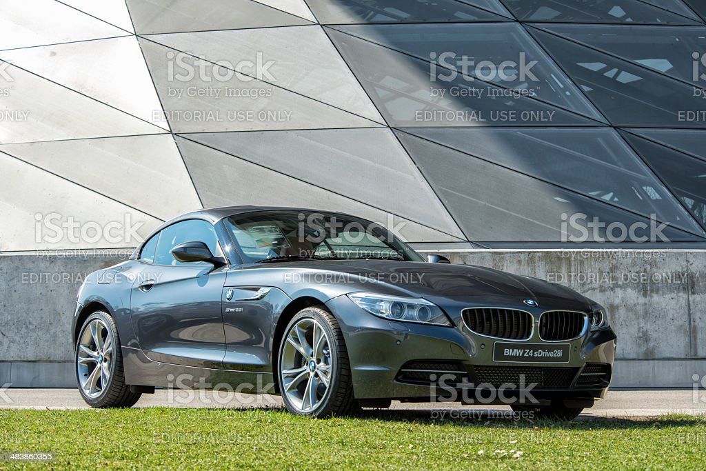 BMW Z4 Roaster stock photo