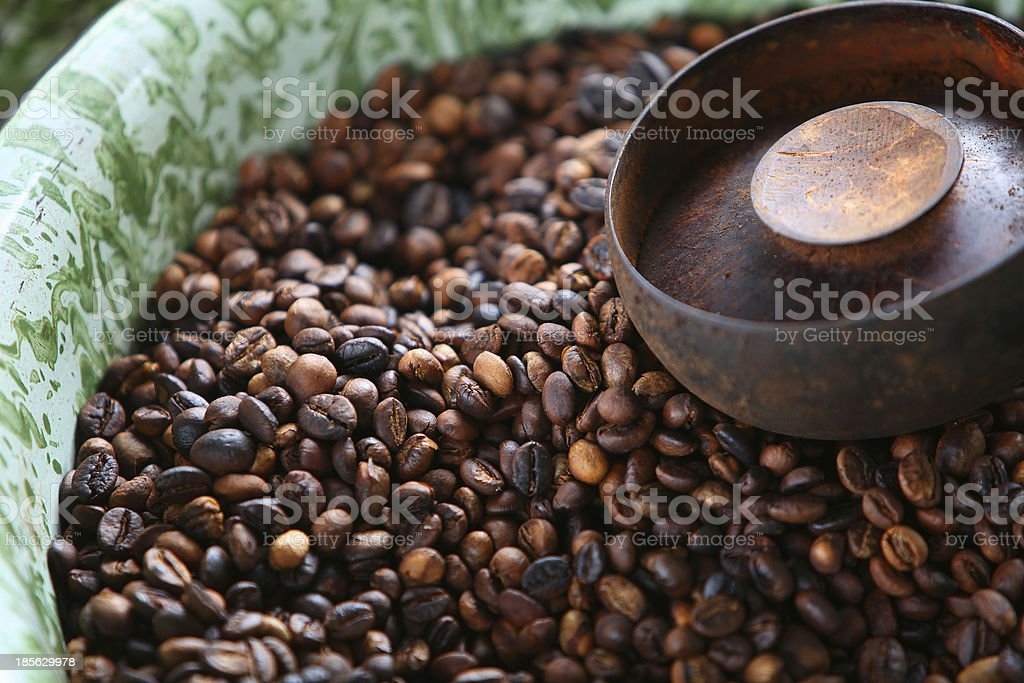 Roasting Cofee royalty-free stock photo