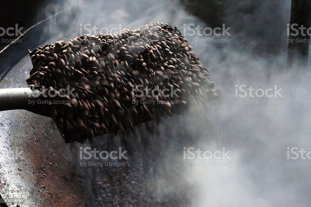 Roasting Coffee Beans stock photo