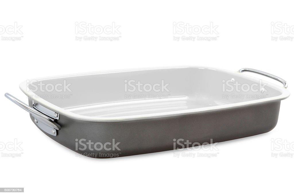 roasting pan stock photo