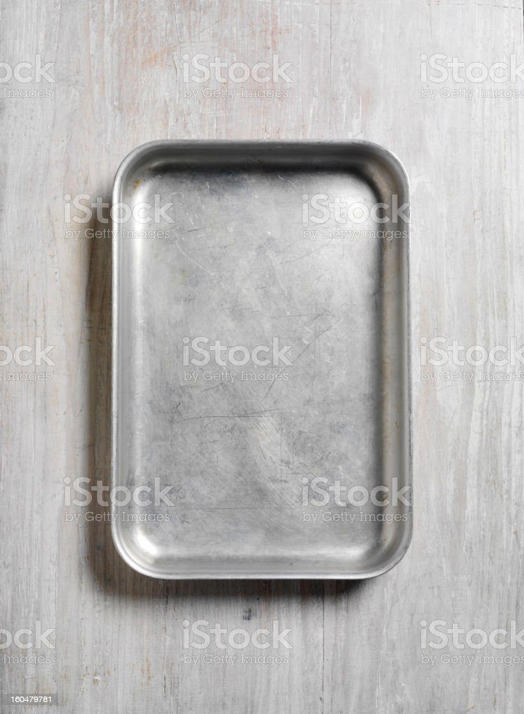 Roasting Tray stock photo