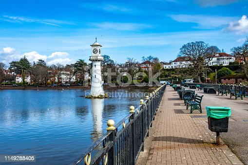 Roath Park in Cardiff.