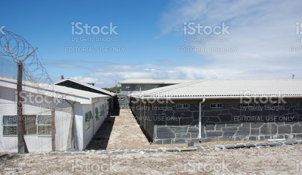 Robben Island Prison stock photo