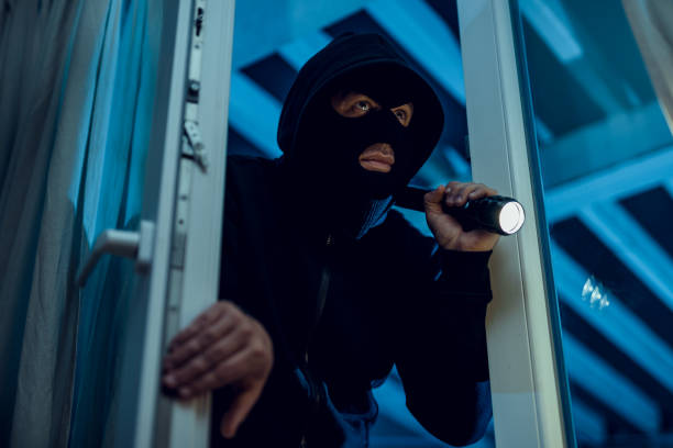 robber - thief stock photos and pictures