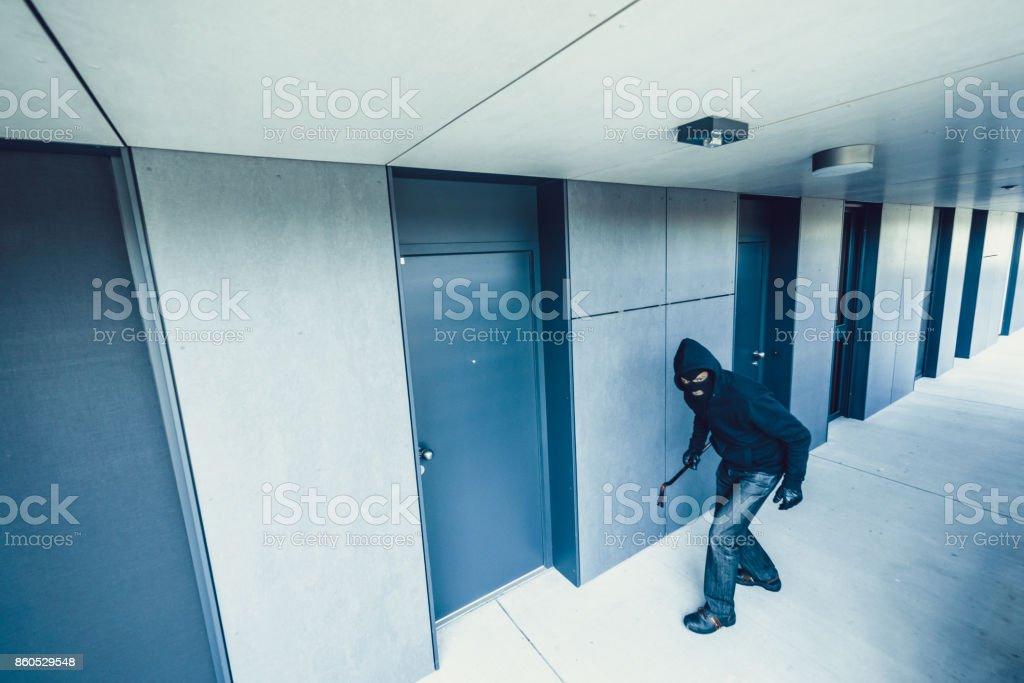 Robber stock photo