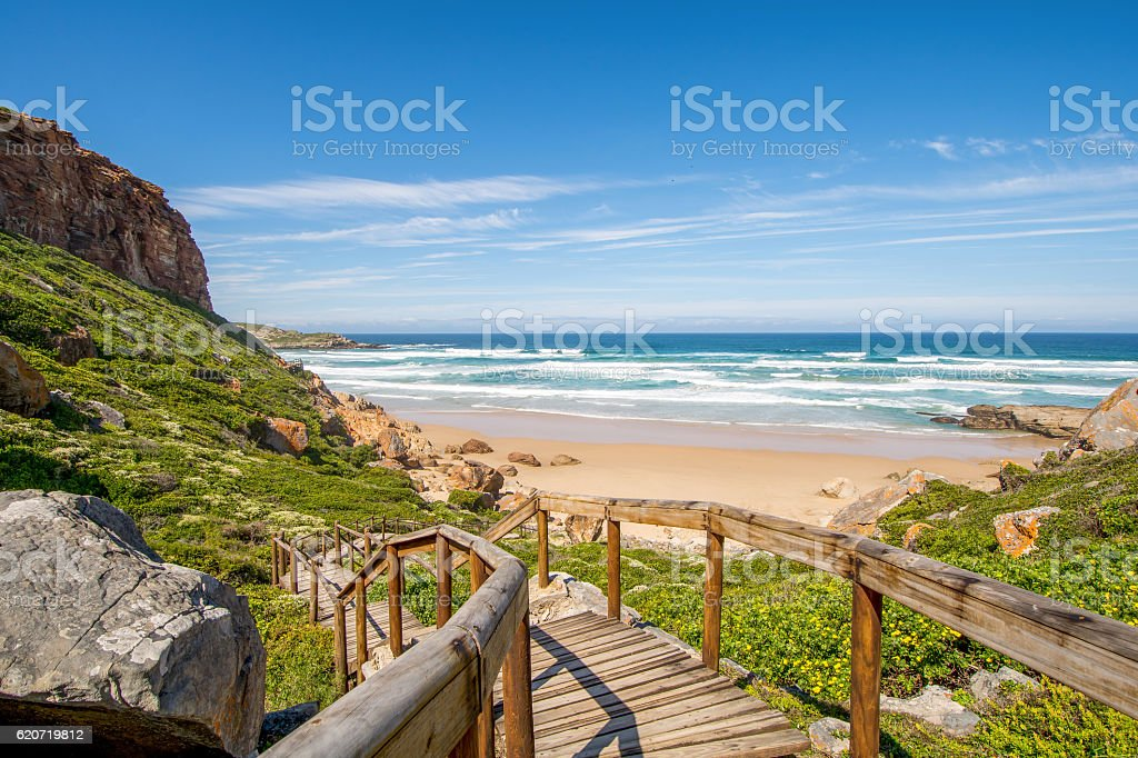 Robberg, Garden Route, South Africa stock photo
