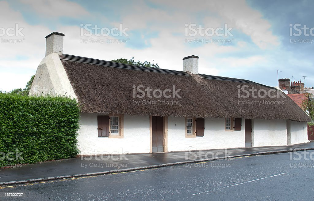 Robert Burns Birthplace stock photo