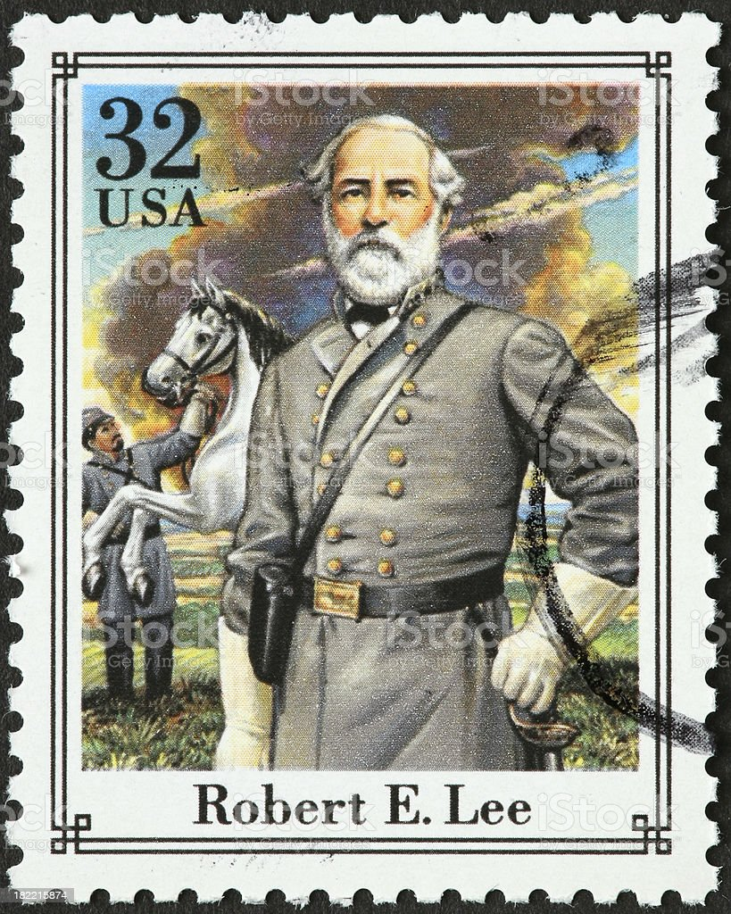 Robert E Lee royalty-free stock photo