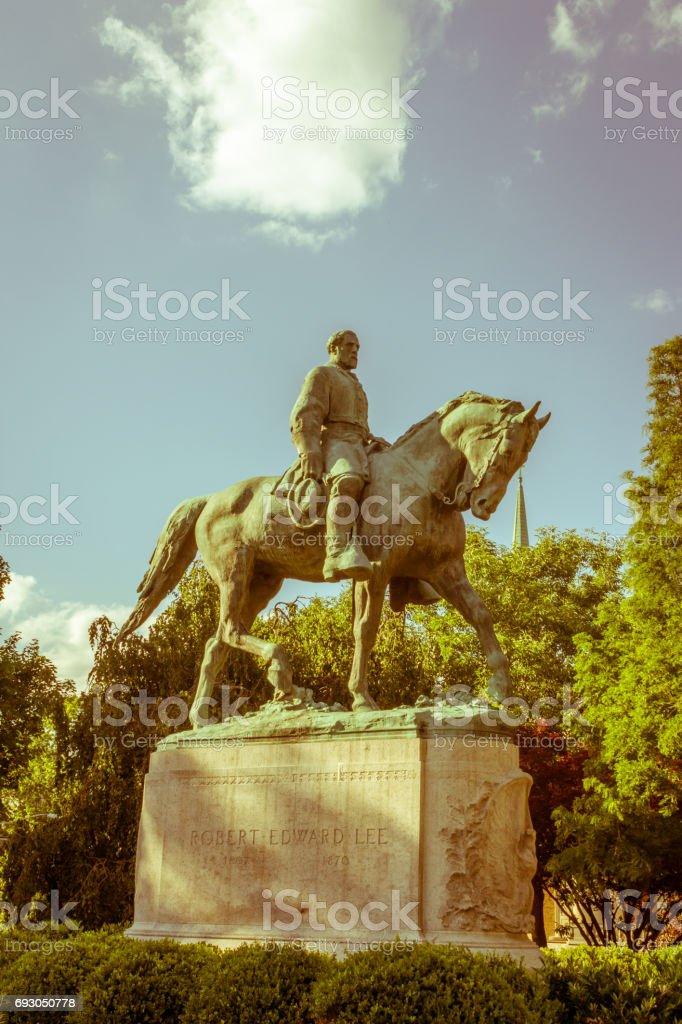 Robert E Lee stock photo