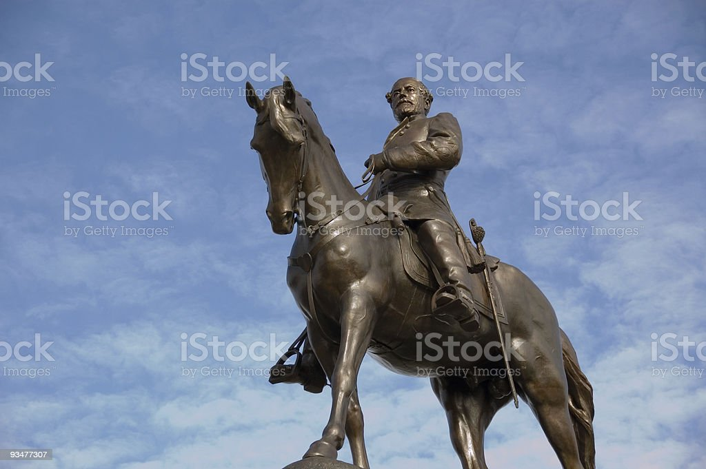 Robert E. Lee stock photo