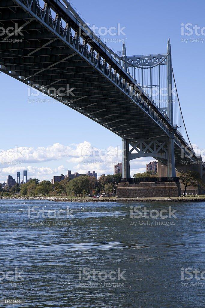 Robert F. Kennedy Bridge in New York City stock photo
