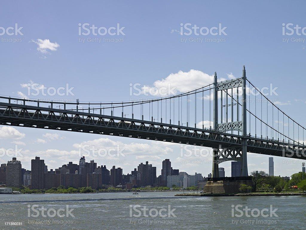 Robert F. Kennedy Bridge stock photo