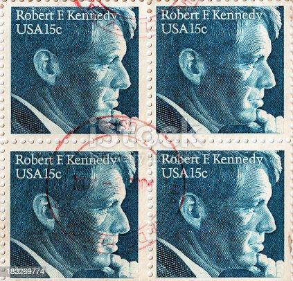Robert F. Kennedy U.S.A. Postage Stamp