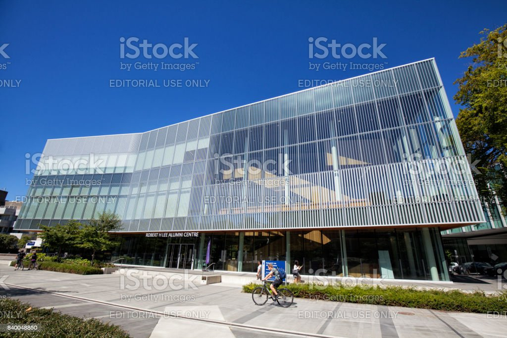 Robert H Lee Alumni Centre in UBC, Vancouver, Canada stock photo