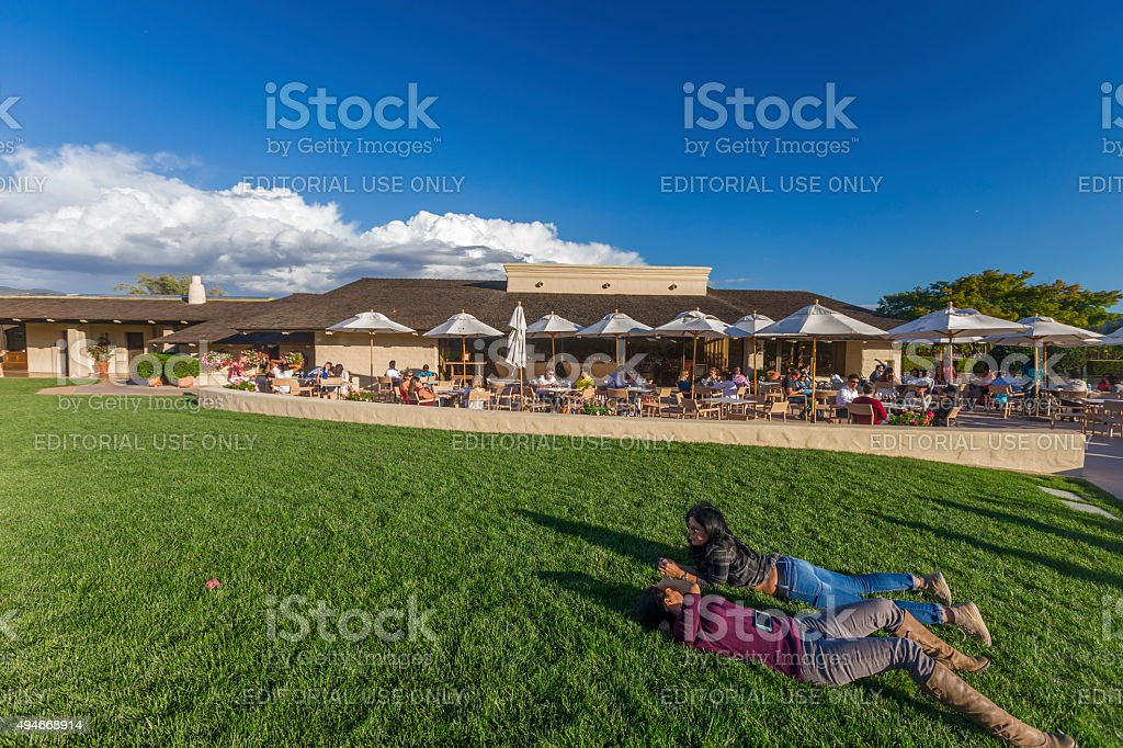 Robert Mondavi Winery  at Napa, California stock photo