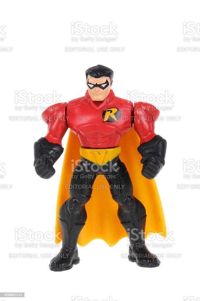 Robin Action Figure stock photo