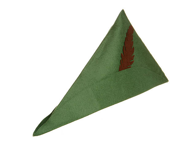 robin hood hat robin hood hat studio cutout peter pan stock pictures, royalty-free photos & images