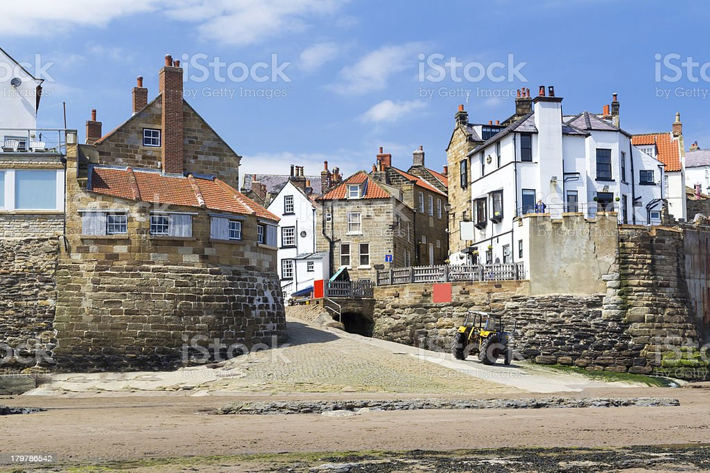 Robin Hood's Bay Yorkshire England royalty-free stock photo