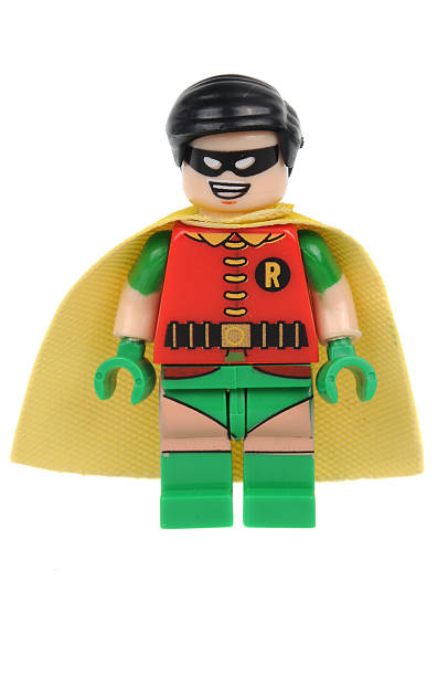 Robin Lego Minifigure stock photo
