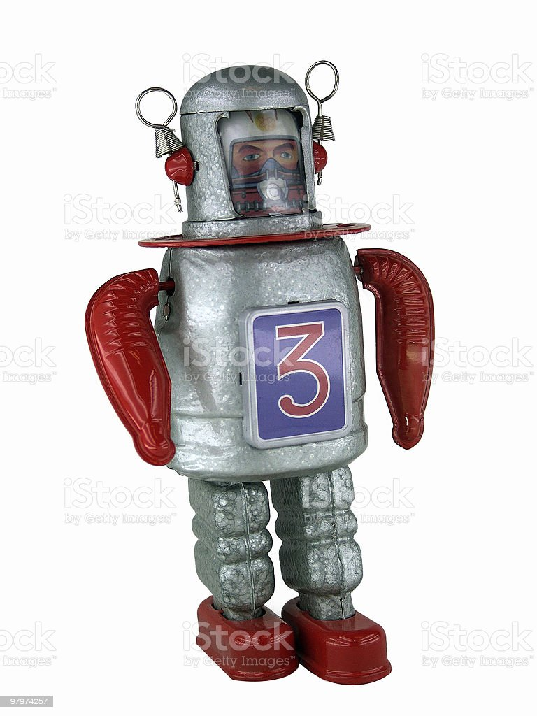 Robot 3 royalty-free stock photo