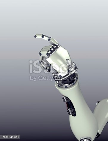 istock robot arm counting number 5 hand gesture 506134731