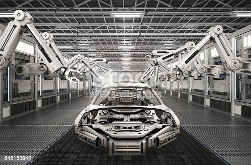 849023956 istock photo robot assembly line in car factory 848153942