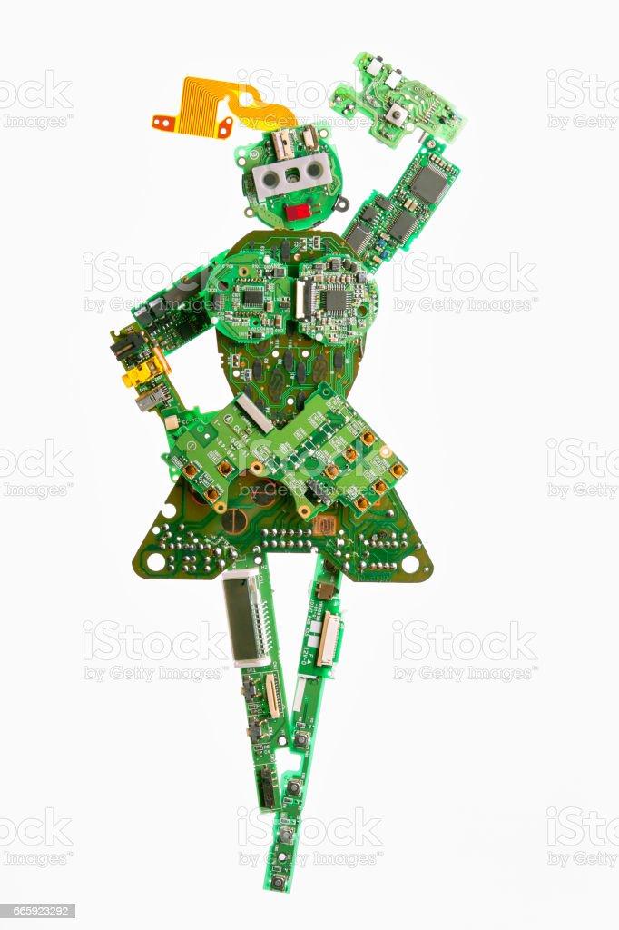 Robot base foto stock royalty-free