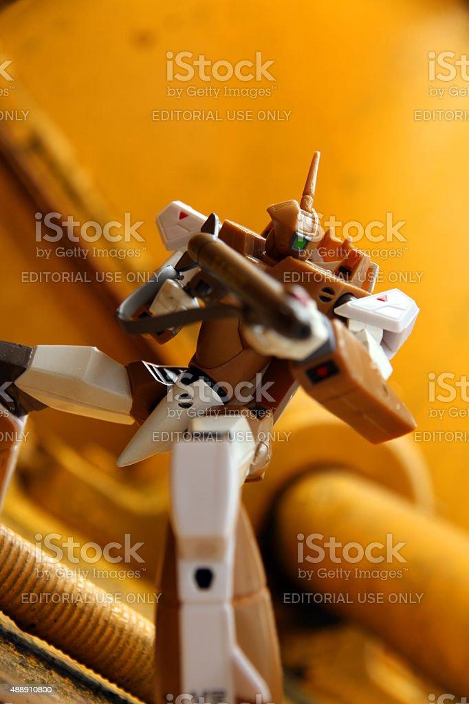 Robot Cyclops stock photo